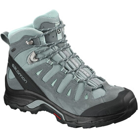 Salomon Quest Prime GTX Kengät Naiset, lead/stormy weather/eggshell blue